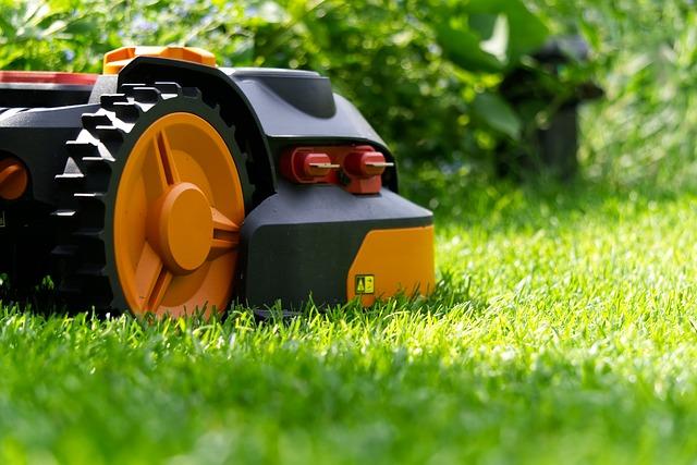 robotgräsklippare i säsong 2020