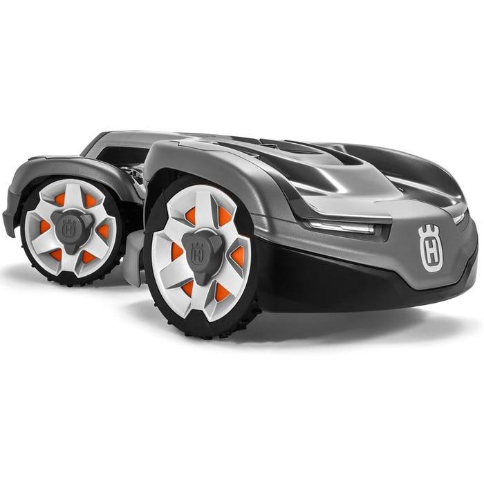 värstingmodellen från husqvarnas automower serie av robotgräsklippare